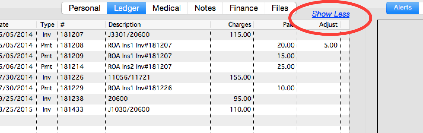 ledger can be organizedopen invoices  kip medical